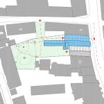 """<span class=""""deutsch"""">Flurplan Gebäude</span><span class=""""englisch"""">street map of the building</span>"""