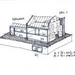 """<span class=""""deutsch"""">Skizze Hausmodell</span><span class=""""englisch"""">sketch for the model of the house</span>"""