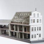 """<span class=""""deutsch"""">Modell Gebäude</span><span class=""""englisch"""">model of the building</span>"""