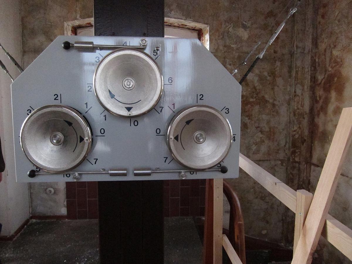 """<span class=""""deutsch"""">Mechanik optischer Telegraph Brake</span><span class=""""englisch"""">mechanics of the optical telegraph in Brake</span>"""