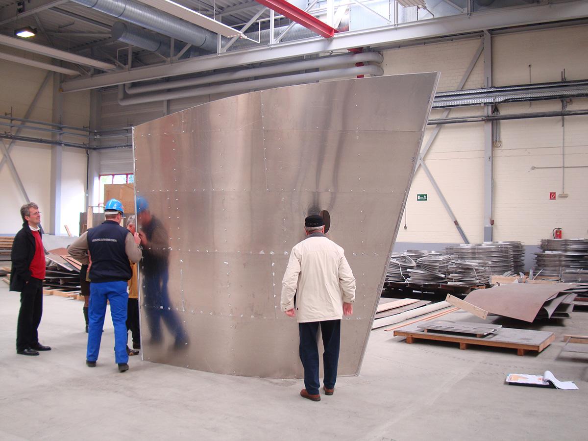 Prototyp Ausstellungselement für Elsfleth