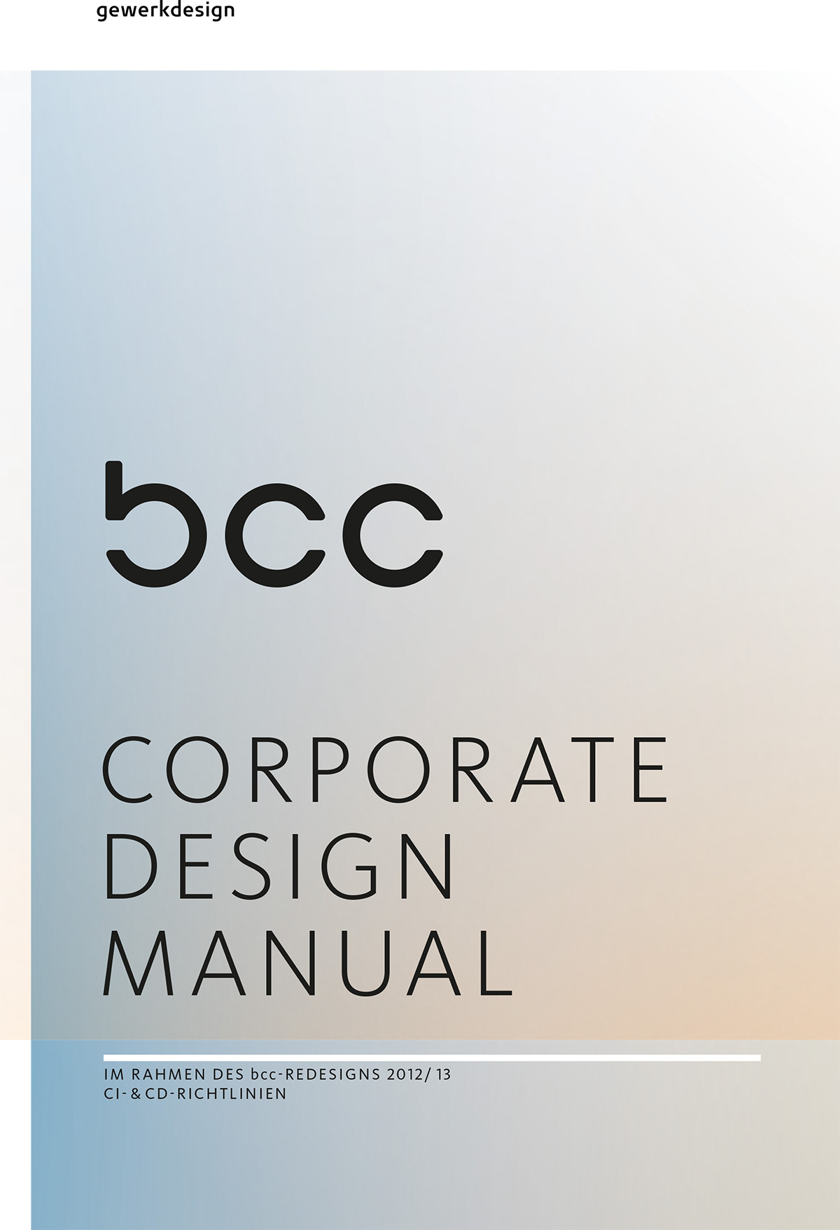 Titelblatt Design Manual