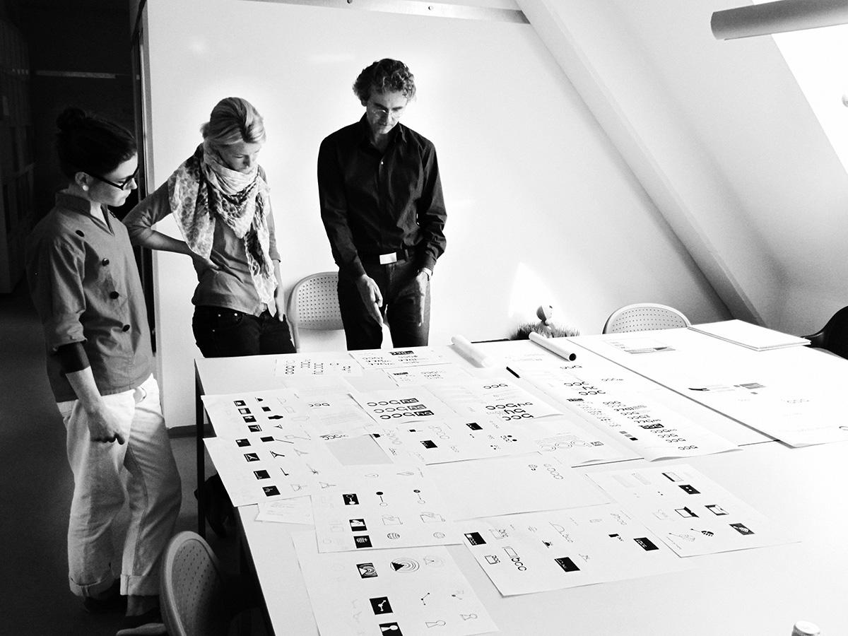 Entwurfsprozess Logoentwicklung