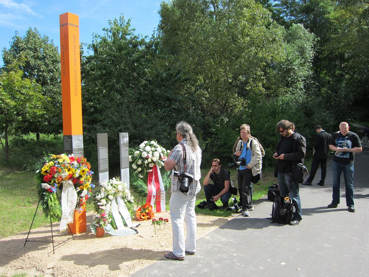 Gedenkfeier der Mauertoten