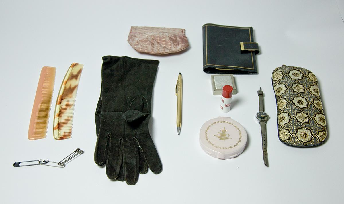 Persönliche Objekte im Archiv der Königlichen Bibliothek Stockholm