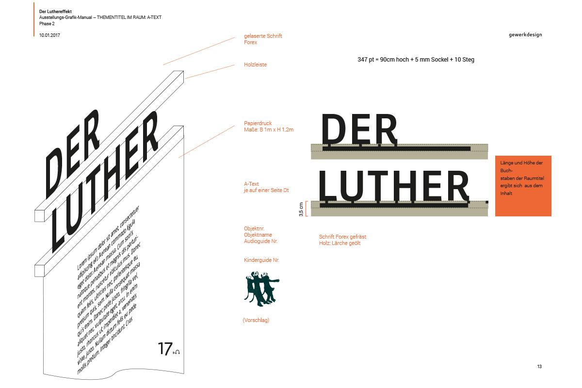 Typografisches Konzept