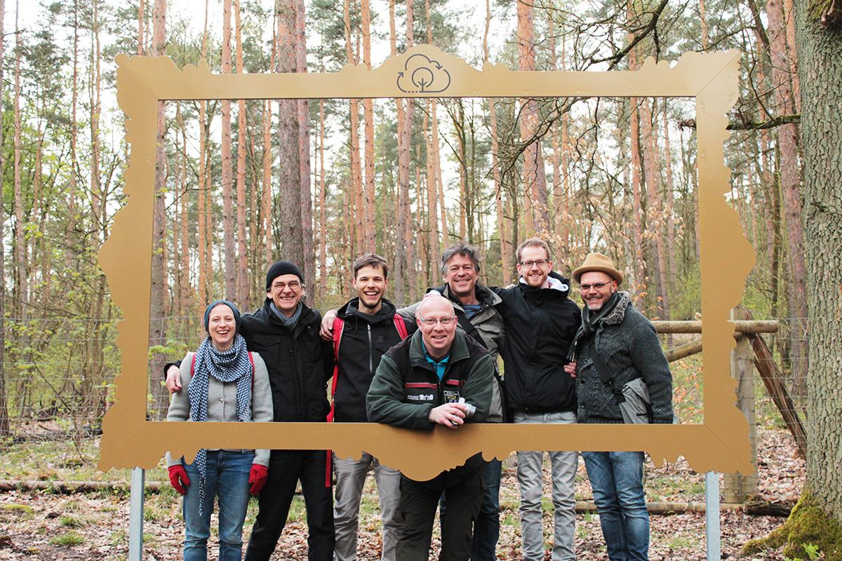 Das Kreativ-Team von Wald.Berlin.Klima.