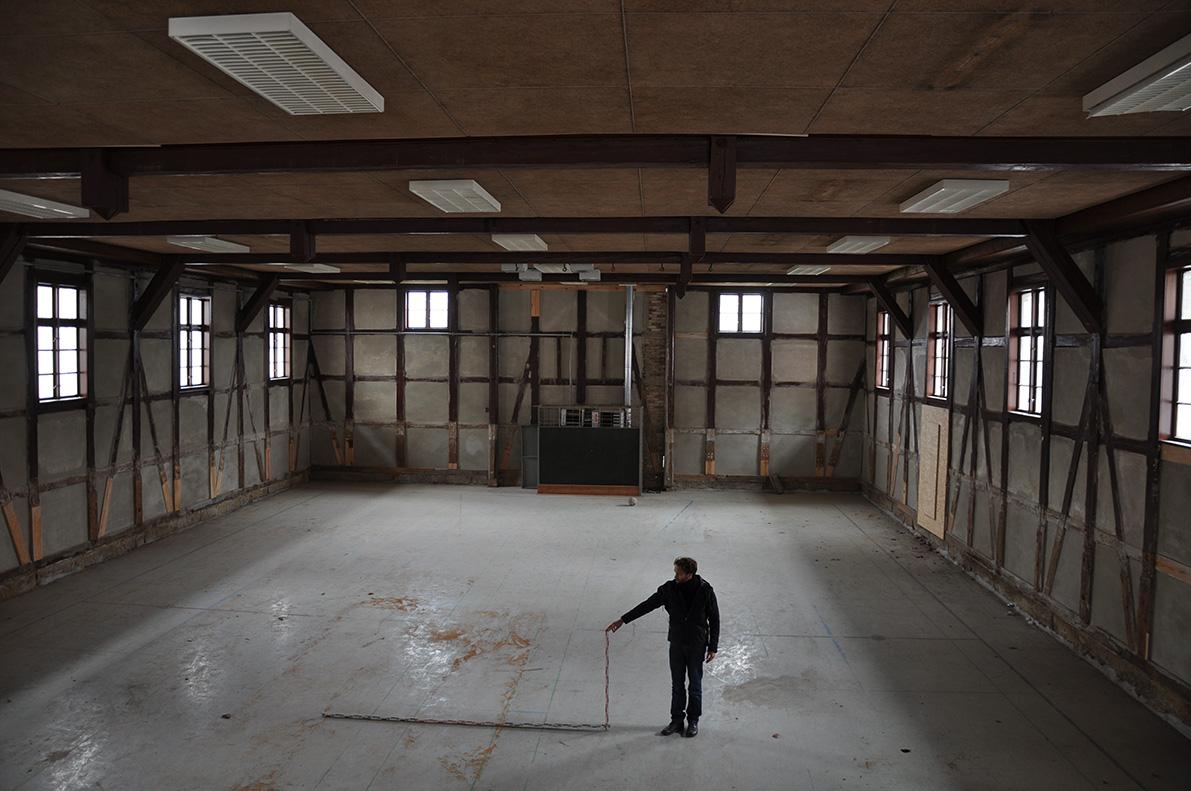 Jahnturnhalle vor Renovierung