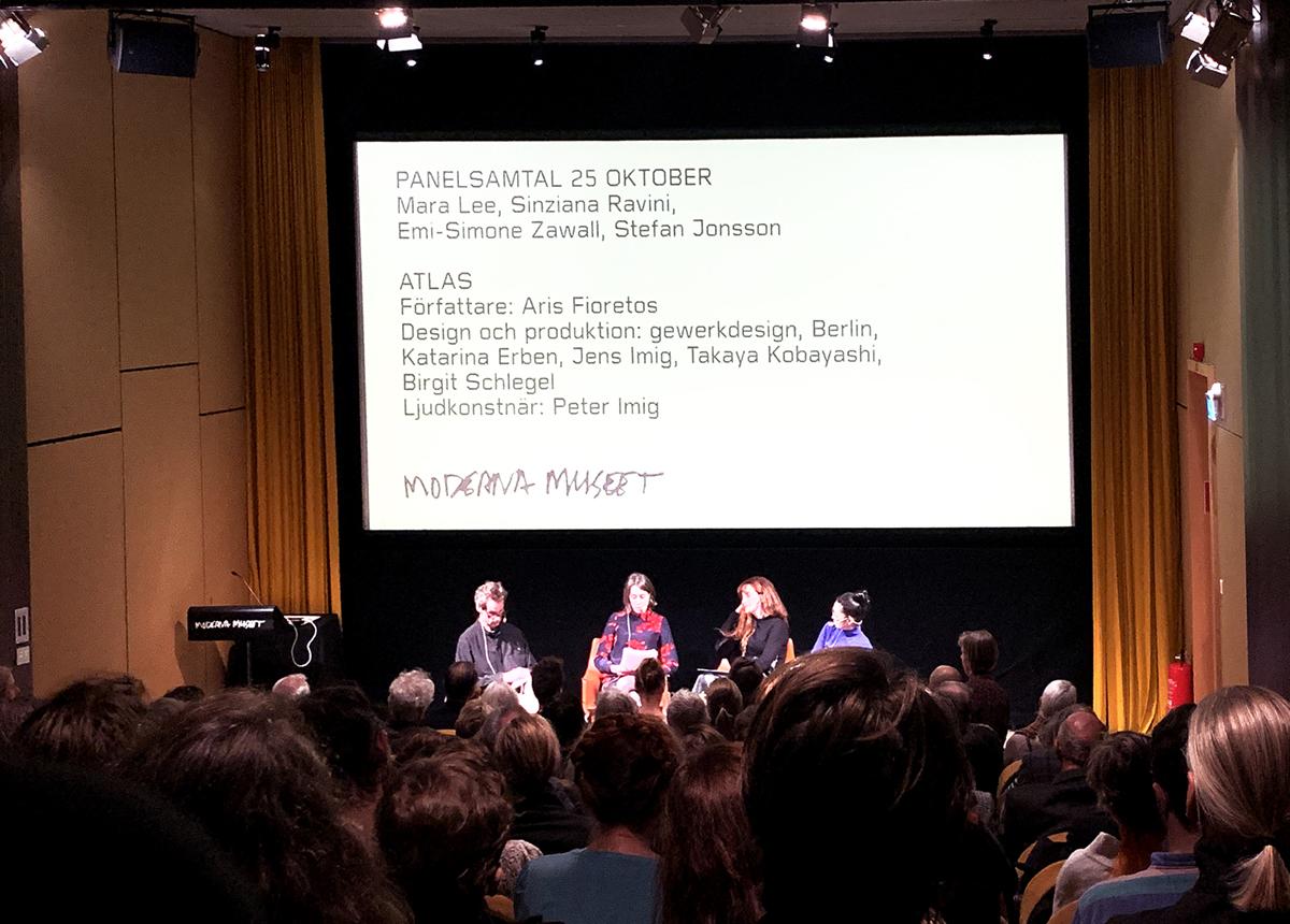 Anschliessende Paneldiskussion zum Buchprojekt ATLAS