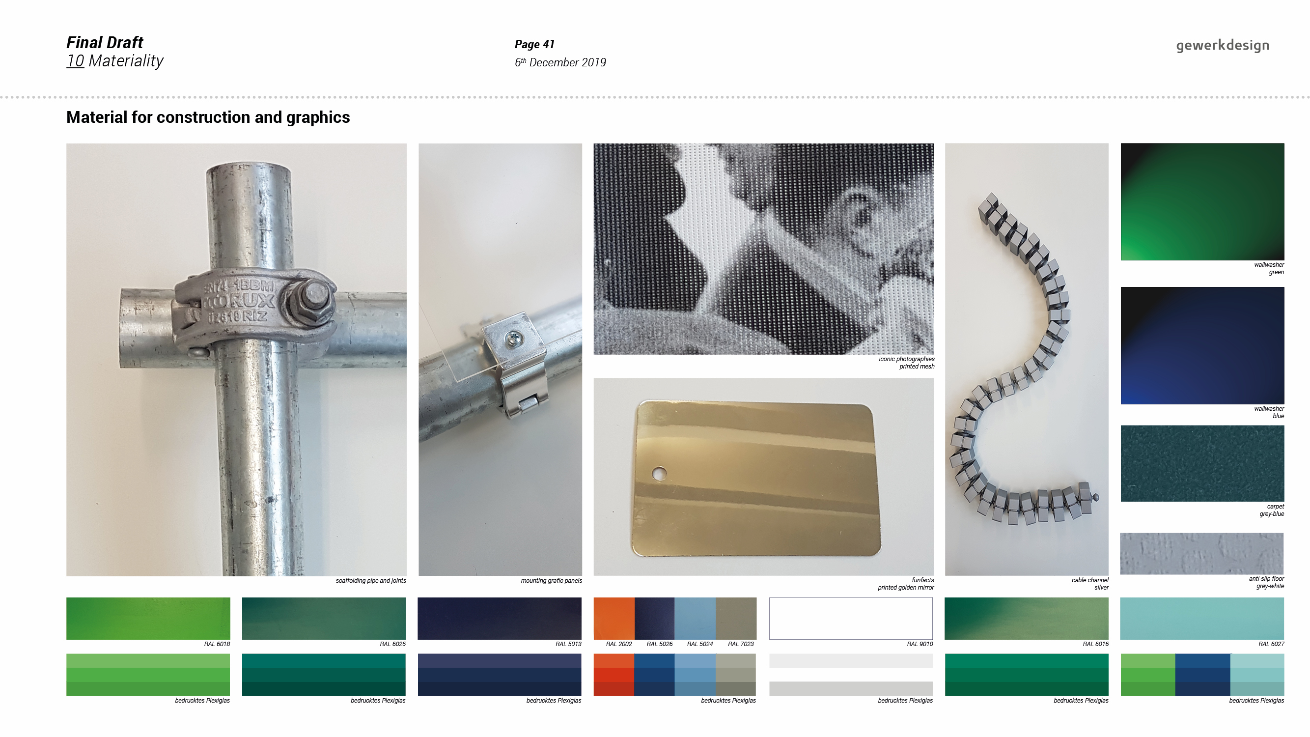 "<span class=""deutsch"">Entwurfsprozess: Material und Farbe</span><span class=""englisch"">design process: materials and colours</span>"